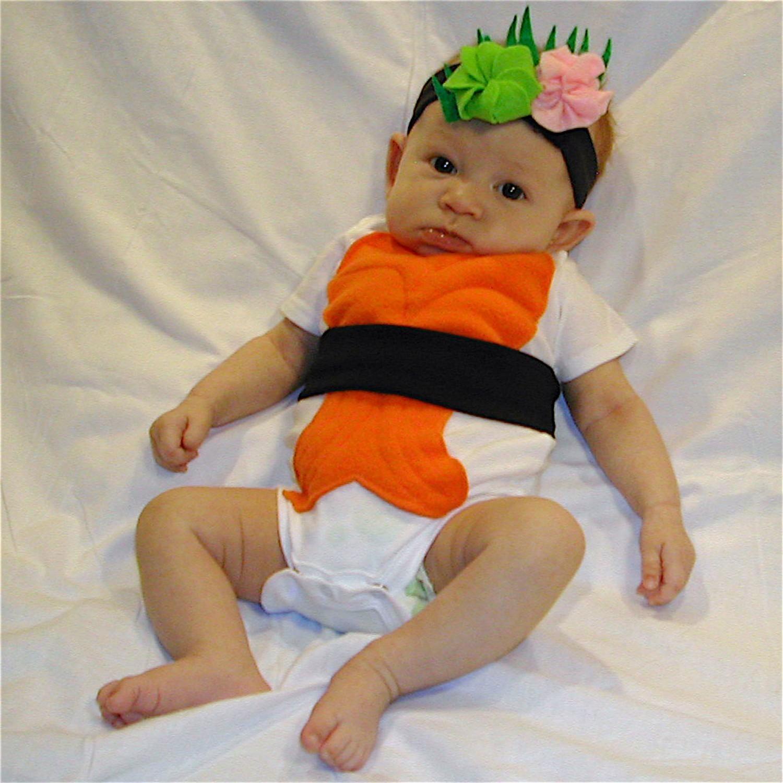 Top ten costumi di Carnevale per neonati Sushi