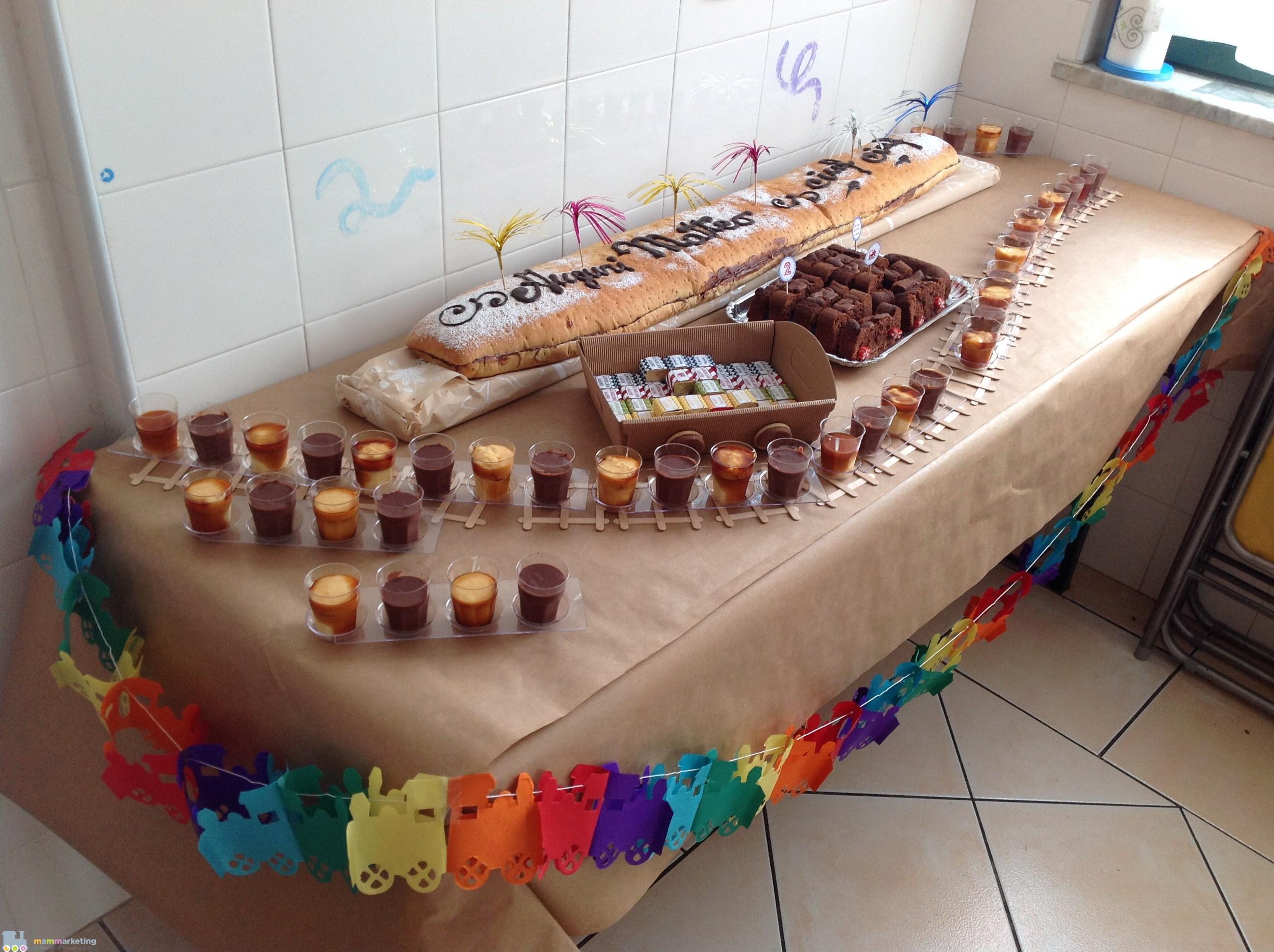Super Festa a tema trenini per il secondo compleanno di Matteo  XQ68