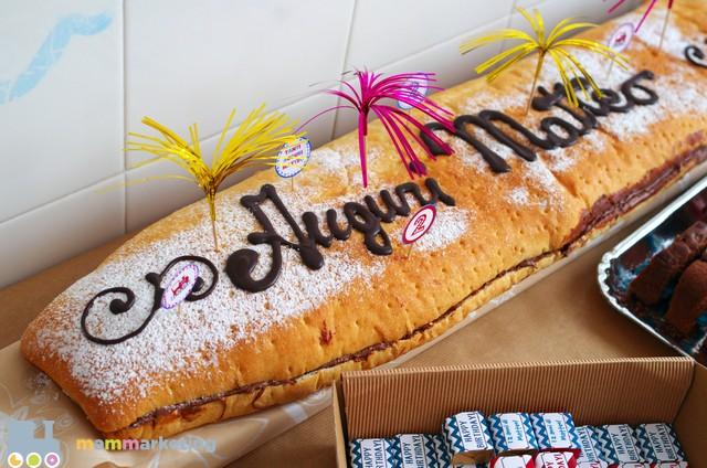 pane e nutella festa di compleanno — Mammarketing