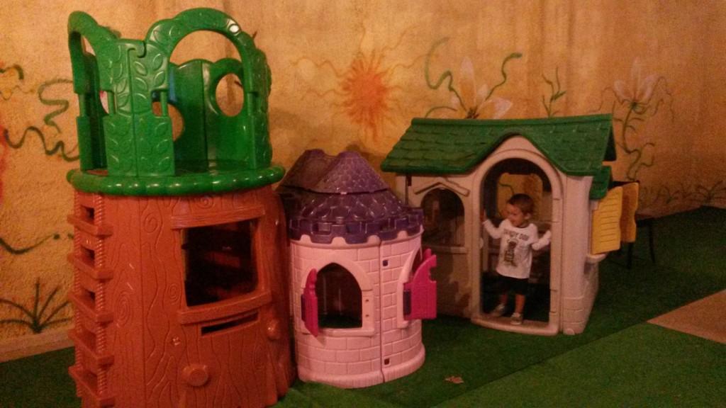 I Tre Archi - le casette per i bambini