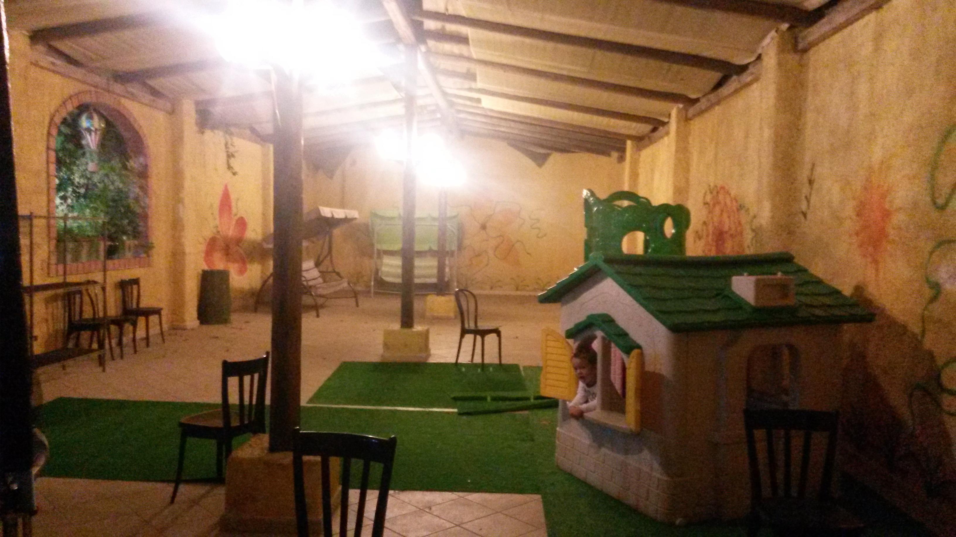 spazio per bambini nella pizzeria I Tre Archi