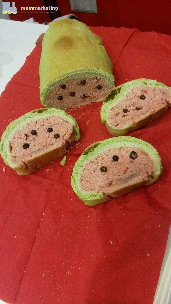 Il mio tentativo di pane anguria :/