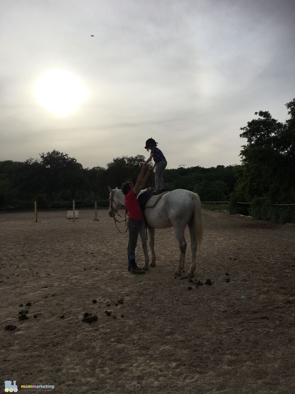 lezione cavallo per bambini Sardegna