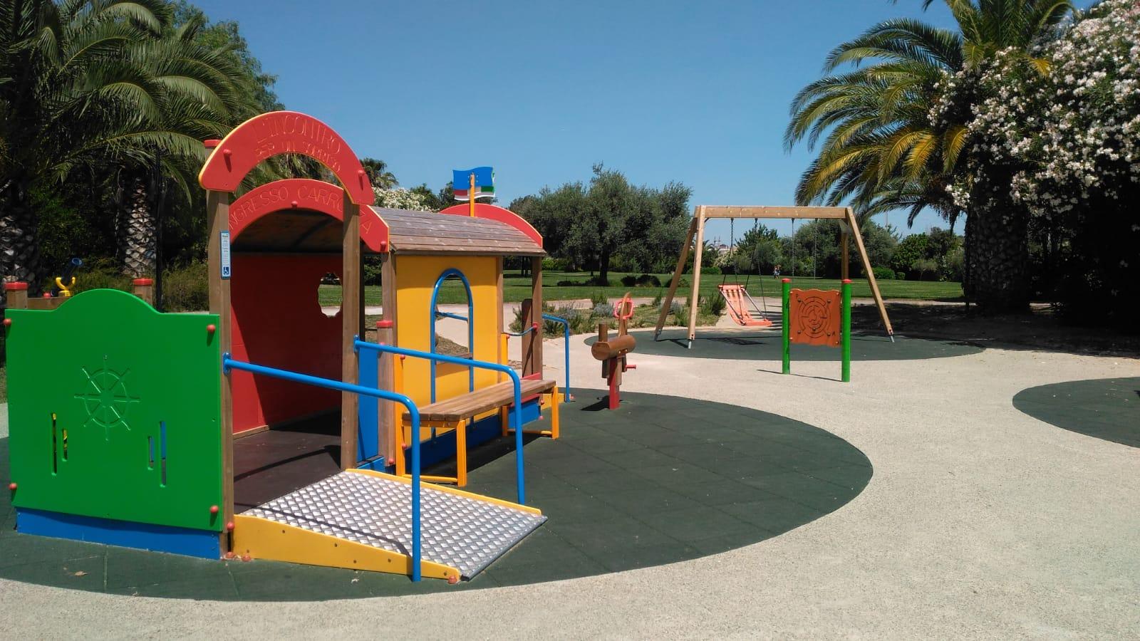 Parco giochi inclusivo Terramaini