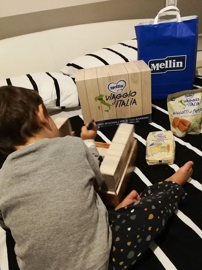 Linea bio Mellin Viaggio d'Italia