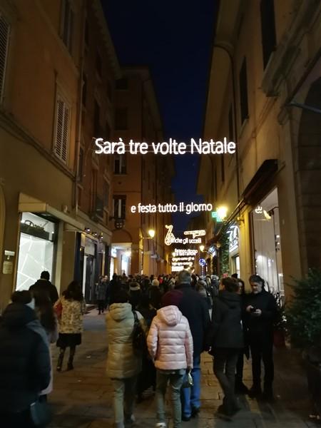 Bologna luminarie