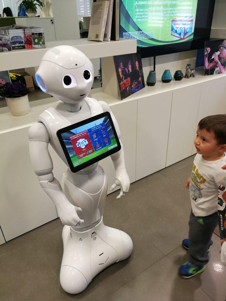 Il robot per i quiz al Panini Tour up