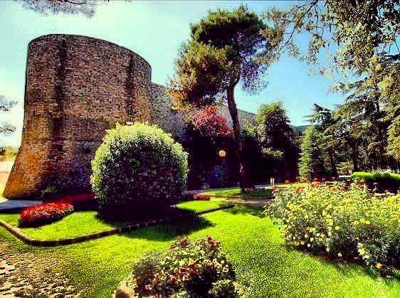 Una torre del Castello Normanno - Villa di Ariano Irpino