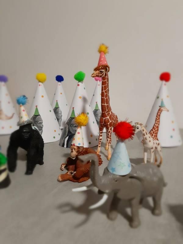 elefante e giraffa party