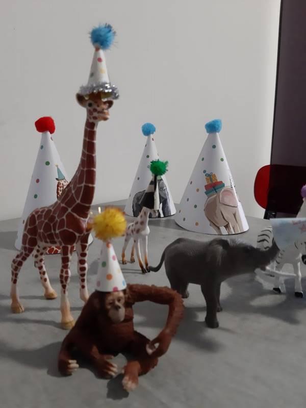 gorilla party hat