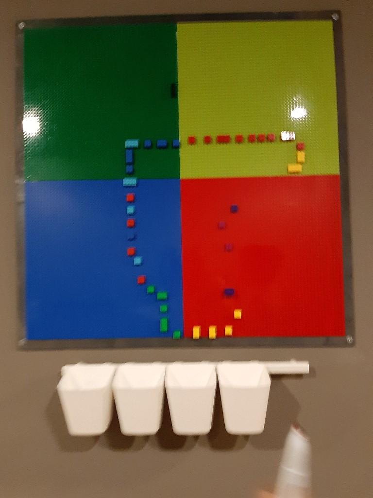 Lego da parete