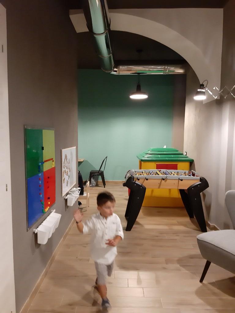 Meccano Cagliari bar Kids Friendly