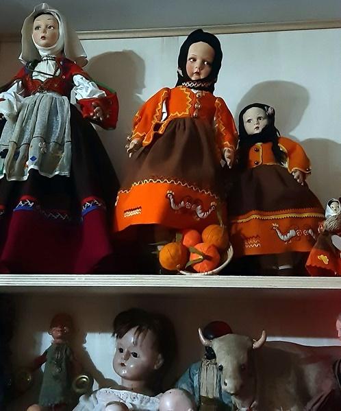 Bambola Lenci in costume sardo