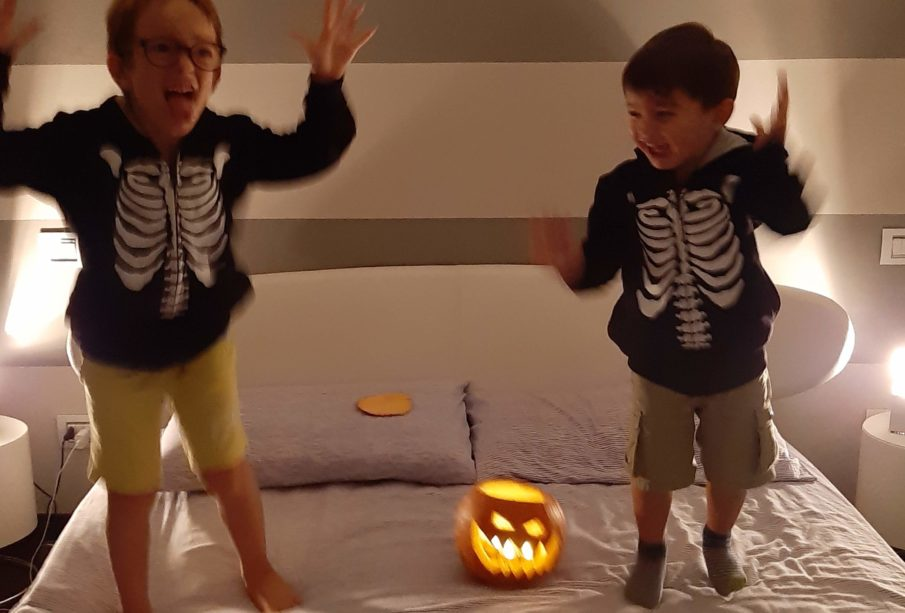 Halloween mamma