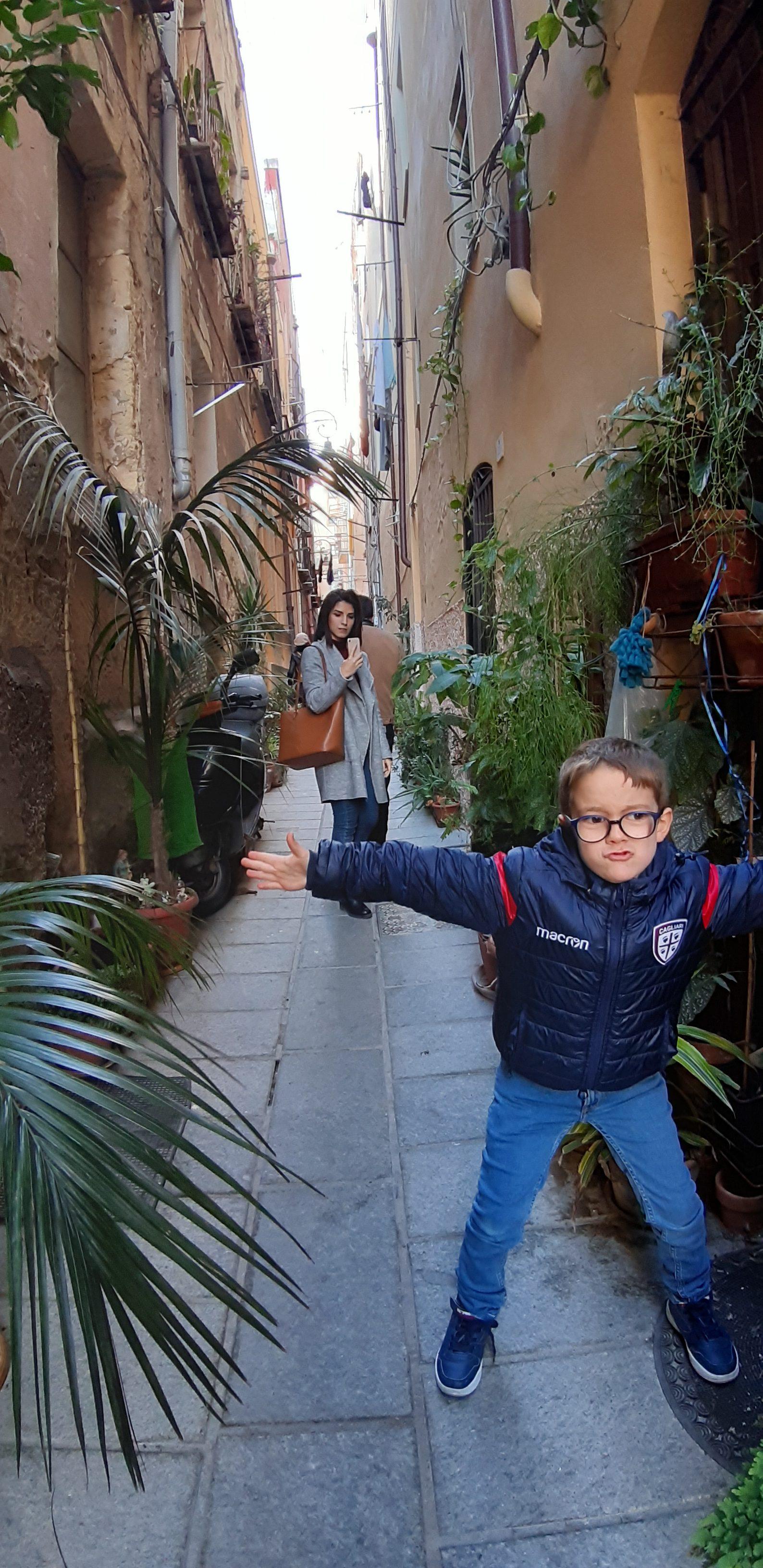 Passeggiata in Castello