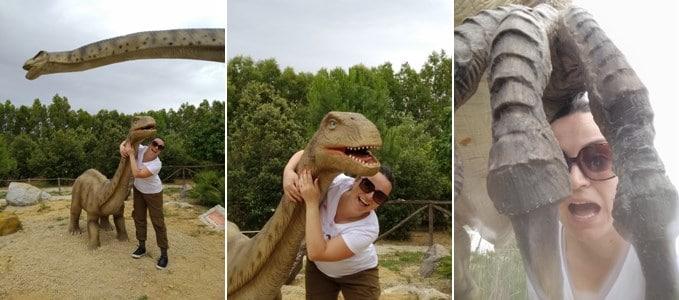 sardegna in miniatura parco dinosauri