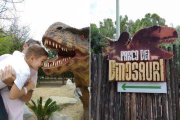Sardegna in miniatura dinosauri