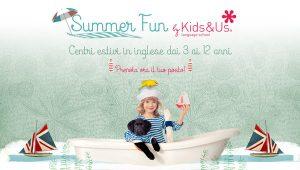 SUMMER FUN KIDS&US - Campi estivi di full immersion in inglese @ Exma