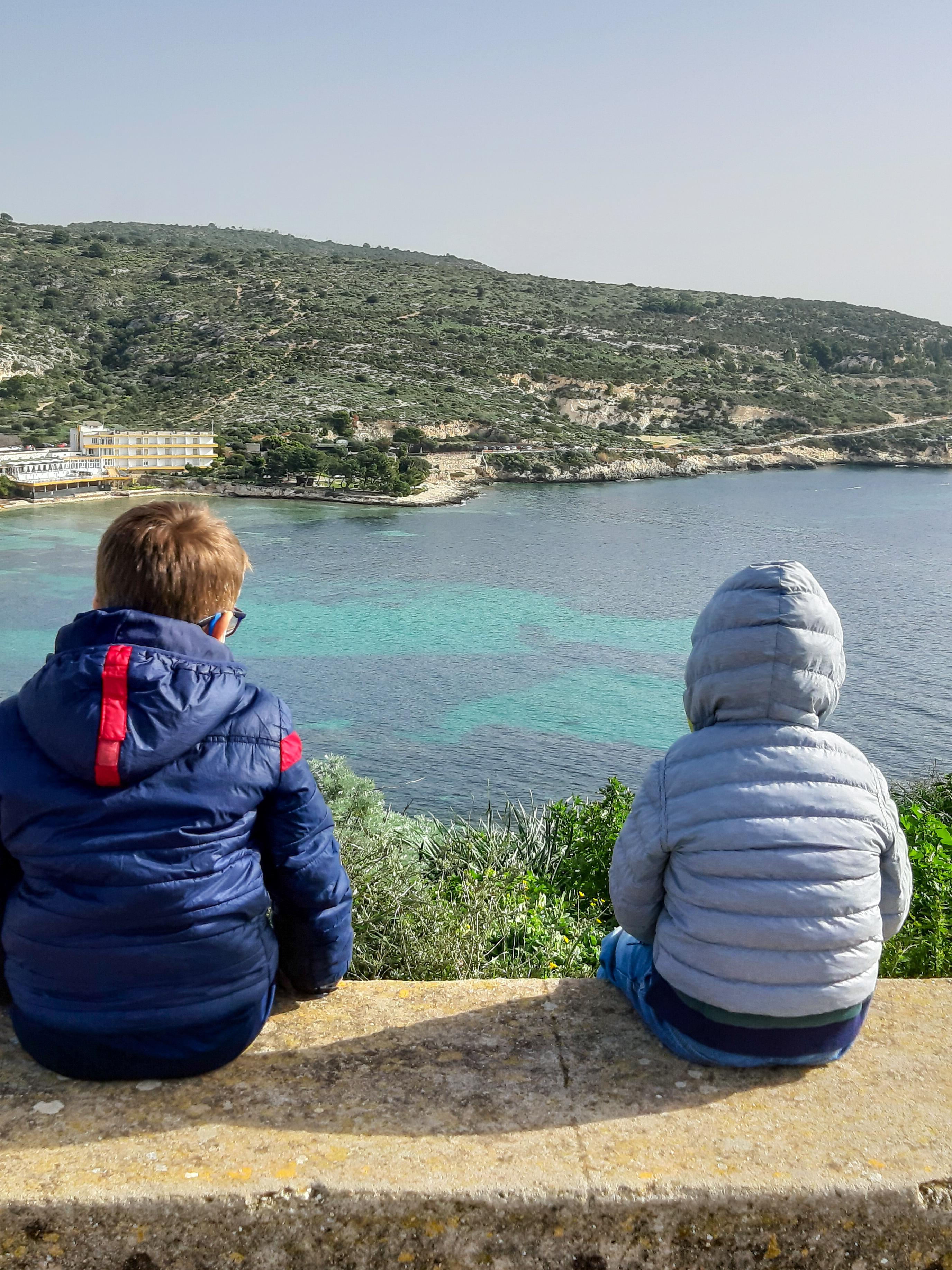 Vista dal Faro di Sant'Elia