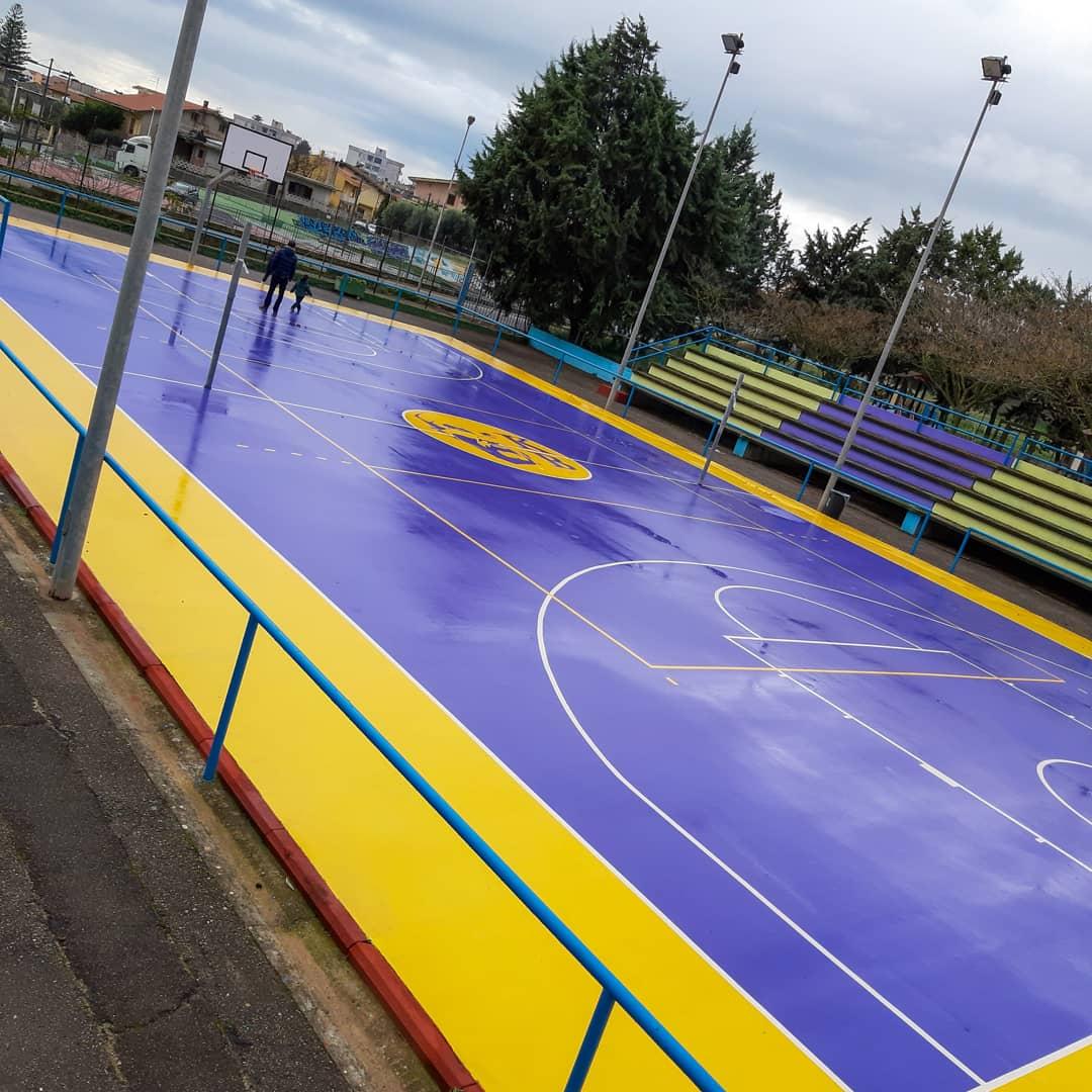 Campo da basket Kobe Bryant Sanluri